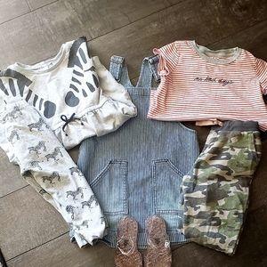 A Bundle of Girl Clothes.